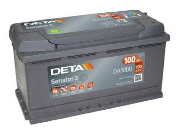 Аккумуляторная батарея 100Ah DETA SENATOR3 12 V